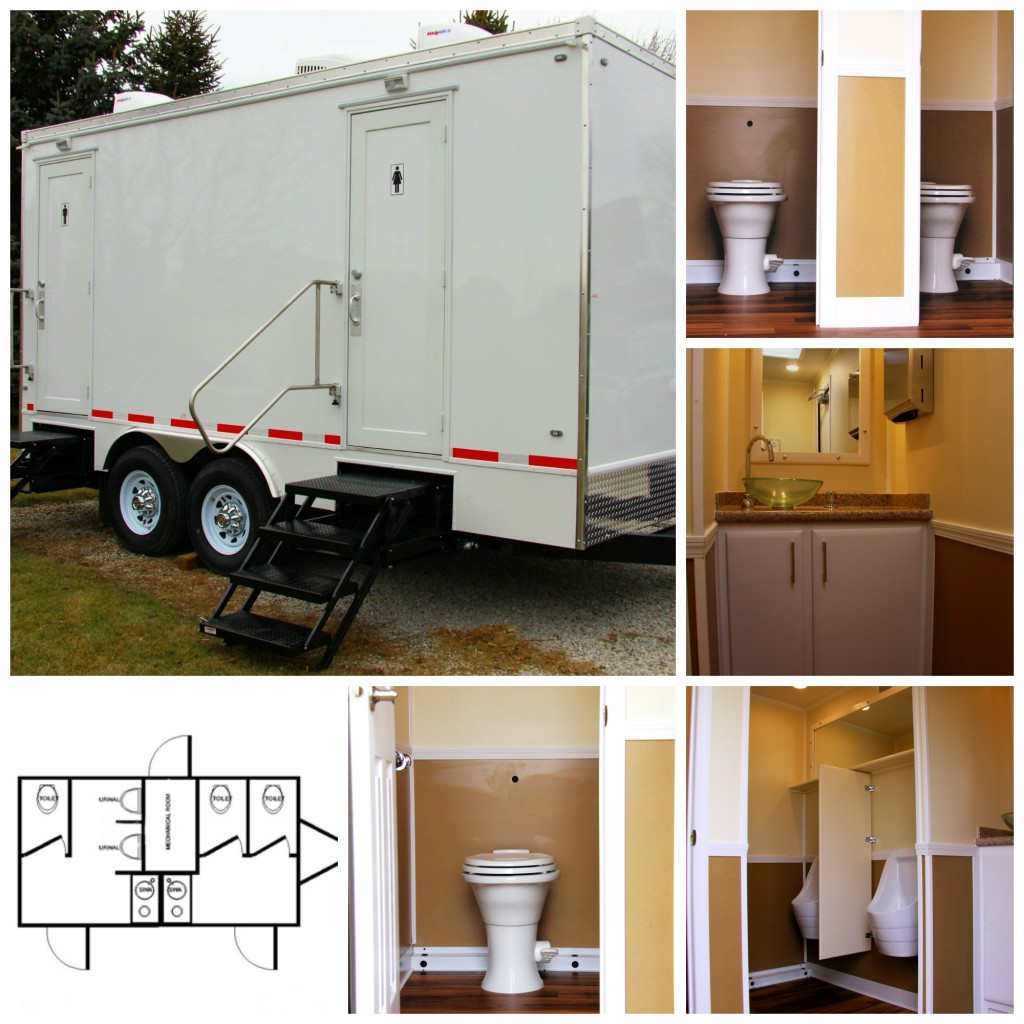 Mobile Washroom 5 Station
