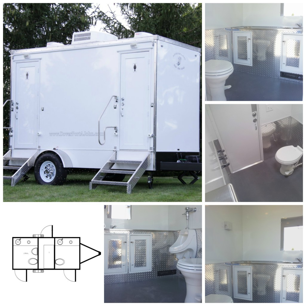 Industrial / Construction Mobile Washroom