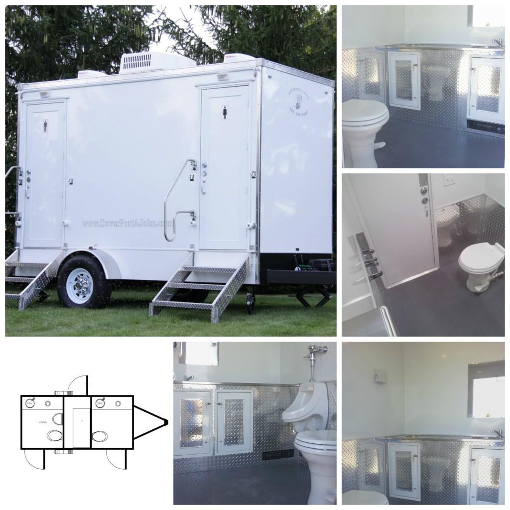 Industrial / Construction Mobile Washroom