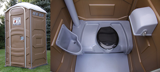 regular- portable toilet unit